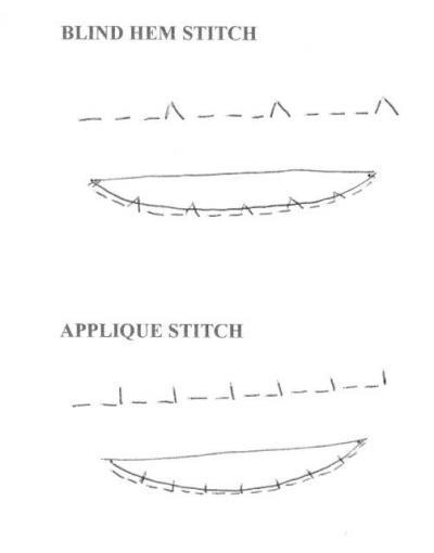 Blind Hem Or Applique Stitch Jennie Rayment Classy Applique Stitch Sewing Machine